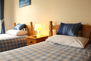 twin bedroom, bed and breakfast Bristol. The White House Guest Rooms
