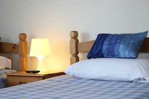 twin bedroom, bed and breakfast Bristol. Whitehouse Guest Rooms, Bristol