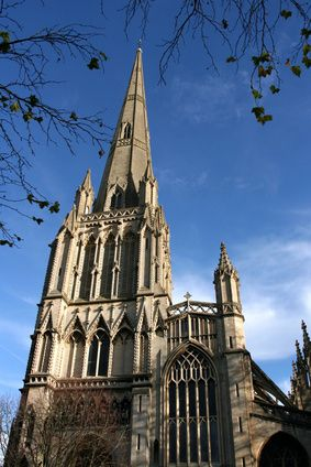 St Mary Redcliffe. Bristols bed and breakfast site seeing at St Mary Redcliffe, Bristol